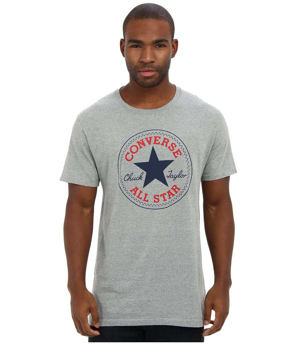 Converse - Core Chuck Tee (Vintage Grey Heather) Men's T Shirt