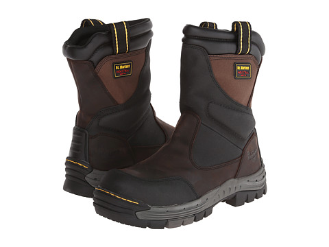 Dr. Martens - Tamar ST Waterproof Wellington Boot (Gaucho/Dark Brown Volcano/Nylon) Men's Work Boots