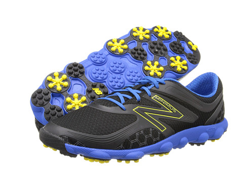 New Balance Golf - Minimus Sport (Black/Blue) Men's Golf Shoes