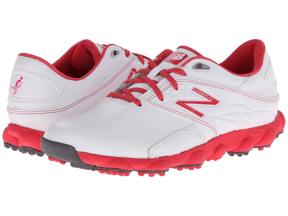 New Balance Golf - Minimus LX (Komen/White/Pink) Women's Golf Shoes
