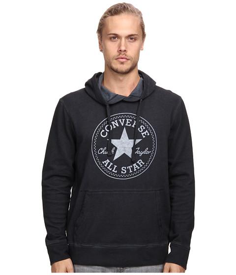 Converse - Marble PO Hoodie (Black) Men's Sweatshirt