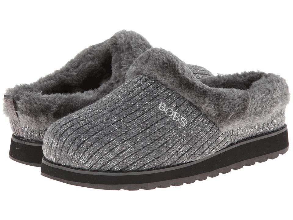 BOBS from SKECHERS - Keepsakes - Star Bright (Charcoal) Women