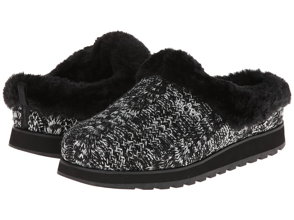 BOBS from SKECHERS - Keepsakes - Knitwit (Black/White) Women