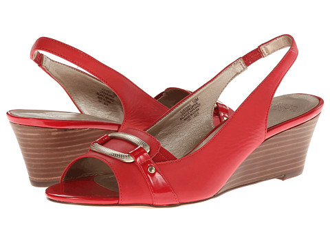 Circa Joan & David - Sydnie (Red) Women's Wedge Shoes