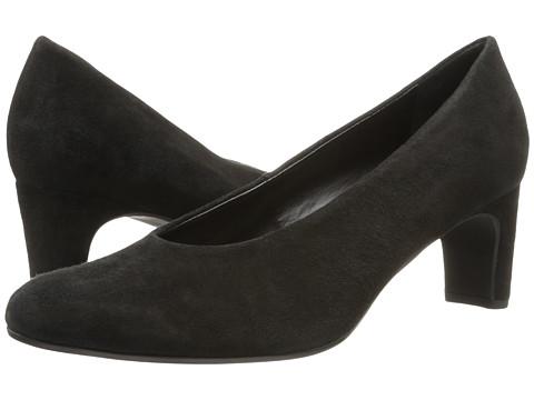 Vaneli - Dina (Black Ecco Suede) High Heels