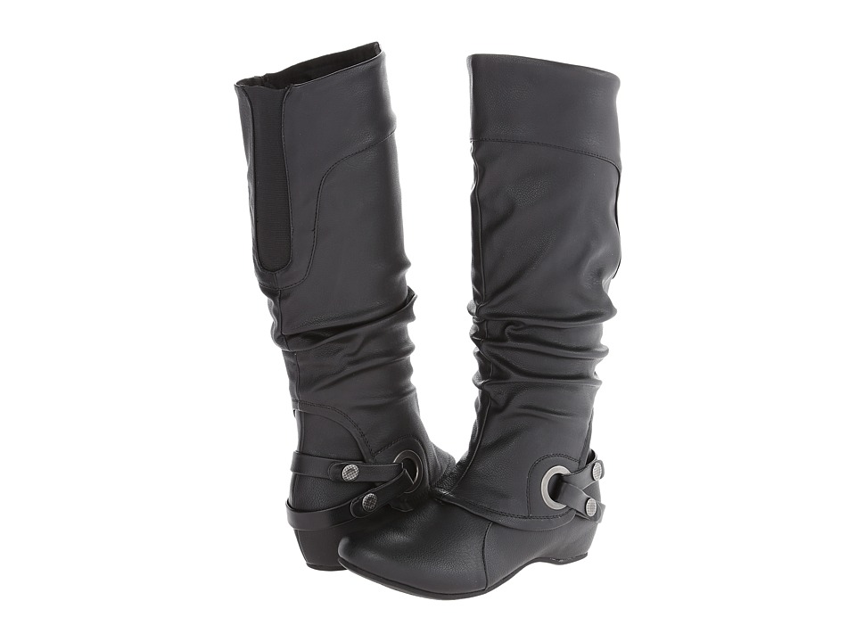 Bare Traps - Sissie (Black Leather) Women's Boots