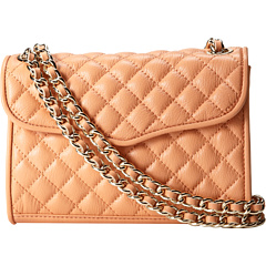 SALE! $146.99 - Save $48 on Rebecca Minkoff Mini Quilted Affair Crossbody (Peachy) Bags and Luggage - 24.62% OFF $195.00