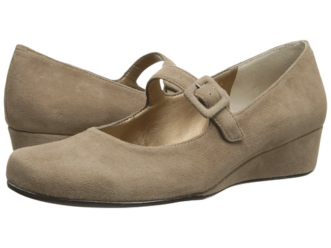 Vaneli - Monika (Truffle Ecco Suede/Truffle Ecco Suede Covered Buckle) Women