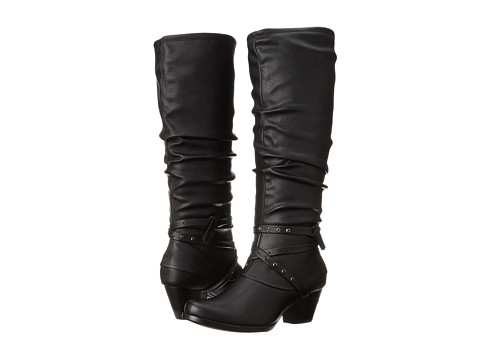 Bare Traps - Rocky (Black Leather) Women's Boots