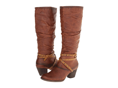Bare Traps - Rocky (Auburn/Brush Brown Leather) Women's Boots
