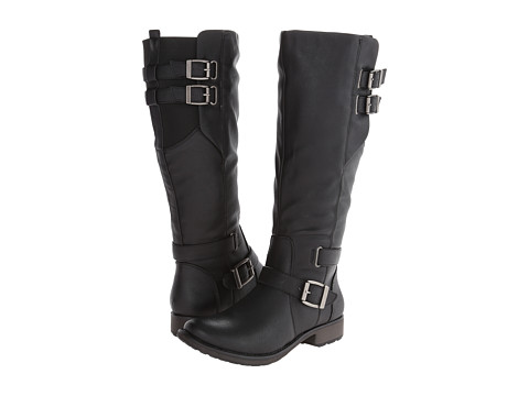 Bare Traps - Sebastian (Black Leather) Women's Boots