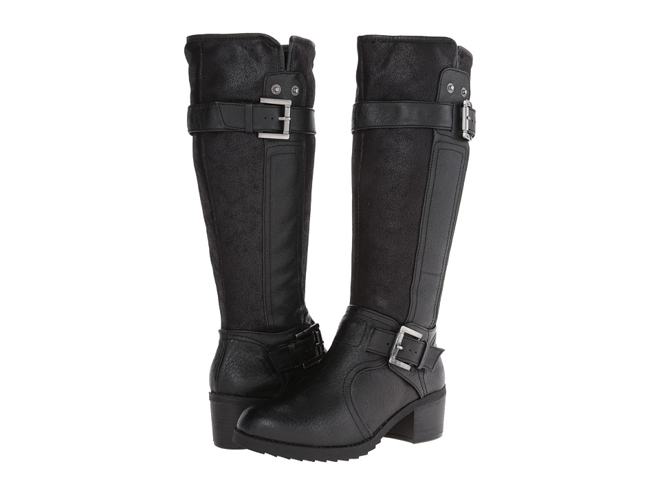 Bare Traps - Kinship (Black Leather) Women's Zip Boots