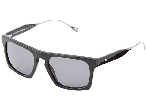 Oliver Peoples West - San Luis (Black/Flint Polarized) Fashion Sunglasses