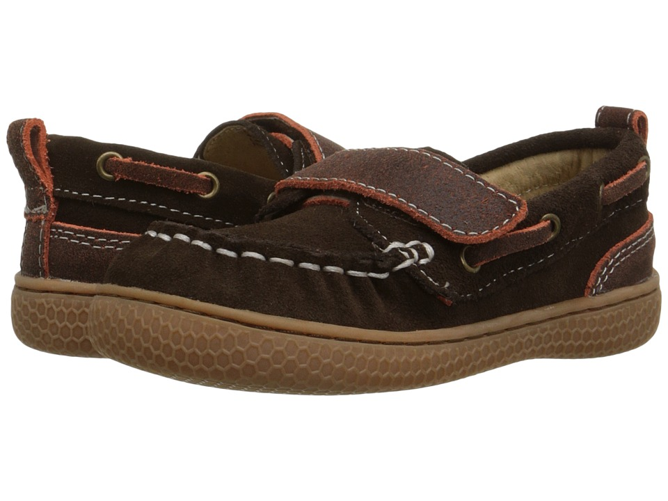 Livie & Luca - North (Toddler/Little Kid) (Mocha) Boys Shoes