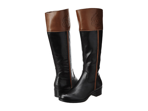 Franco Sarto - Canyon (Black/Acorn) Women's Pull-on Boots
