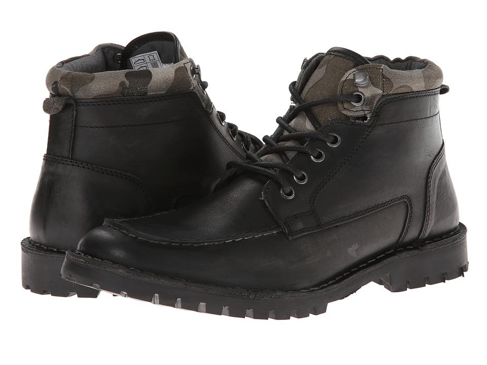 Steve Madden - Namesake (Black) Men's Lace-up Boots