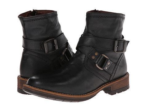 Steve Madden - Napier (Black Leather) Men's Pull-on Boots