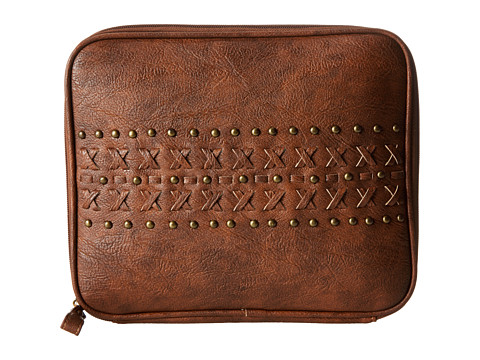 American West Asheville Tablet Case (Saddle Tan) Computer Bags