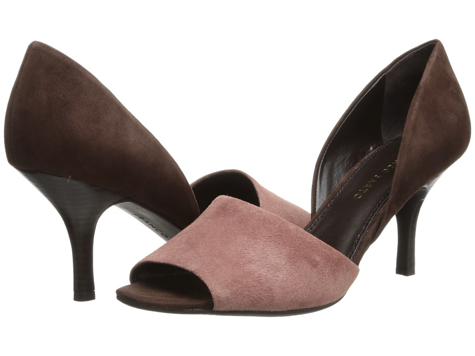 Franco Sarto - Ilsa (Powder Rose/Chocolate) High Heels