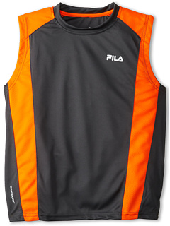 SALE! $14.99 - Save $15 on Fila Kids Basketball Tank Top (Big Kid) (Orange) Apparel - 50.03% OFF $30.00
