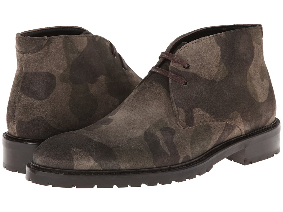 To Boot New York - Antonio (Camouflage) Men's Lace-up Boots