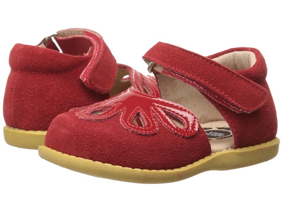 Livie & Luca - Petal (Toddler/Little Kid) (Red) Girl's Shoes