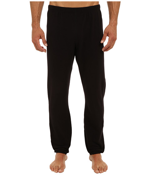 Hot Chillys - Pepper Fleece Bottom (Black) Men's Casual Pants