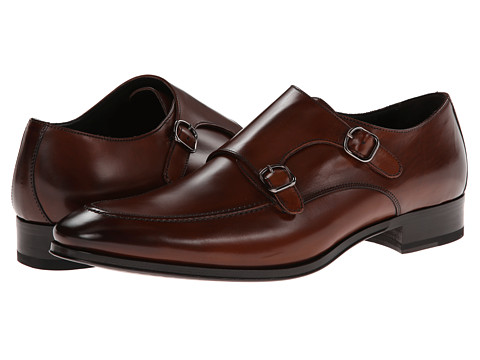 To Boot New York - Daniel (Cognac) Men's Monkstrap Shoes