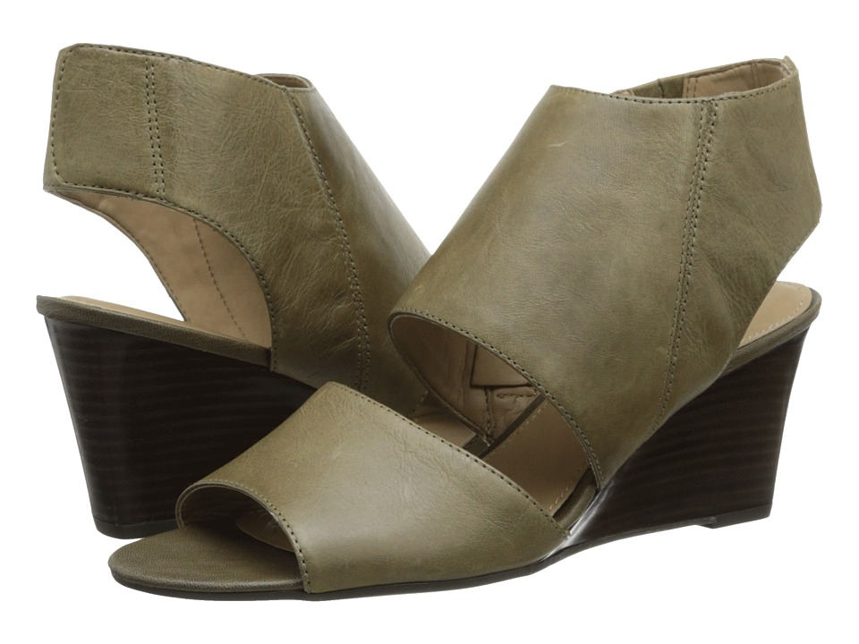 Franco Sarto - Kressa (Olive) Women's Wedge Shoes