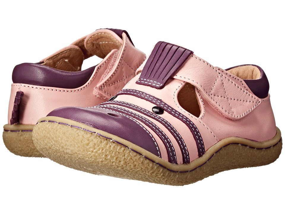 Livie & Luca - Zebra (Toddler) (Pink) Kid's Shoes
