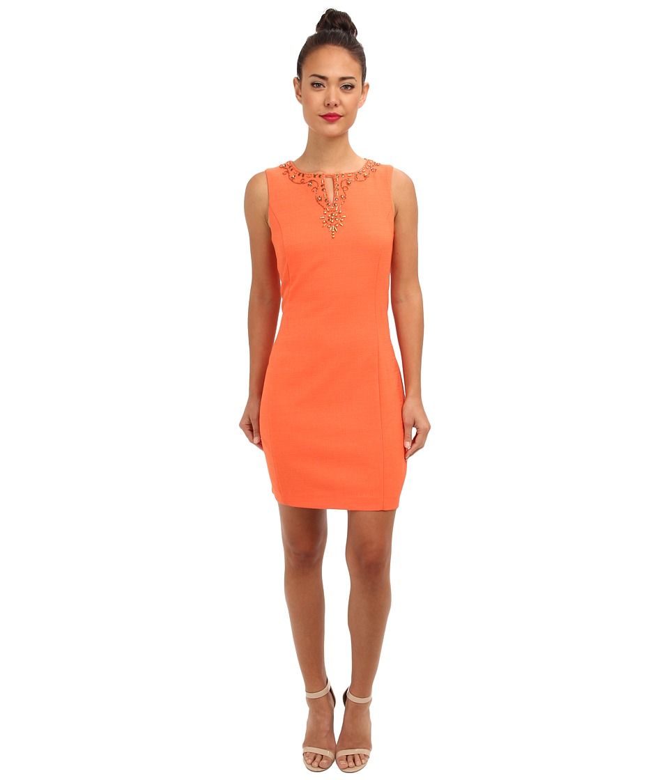 Christin Michaels - Shyloh Dress (Orange) Women's Dress
