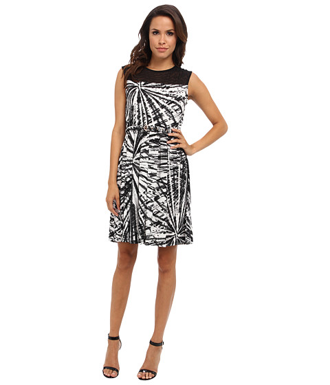 Christin Michaels - Mollie Dress (Black/Ivory) Women's Dress