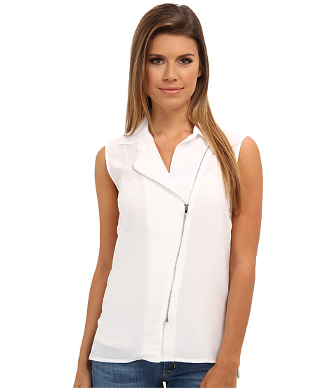 Bailey 44 - First And Ten Top (White) Women's Sleeveless