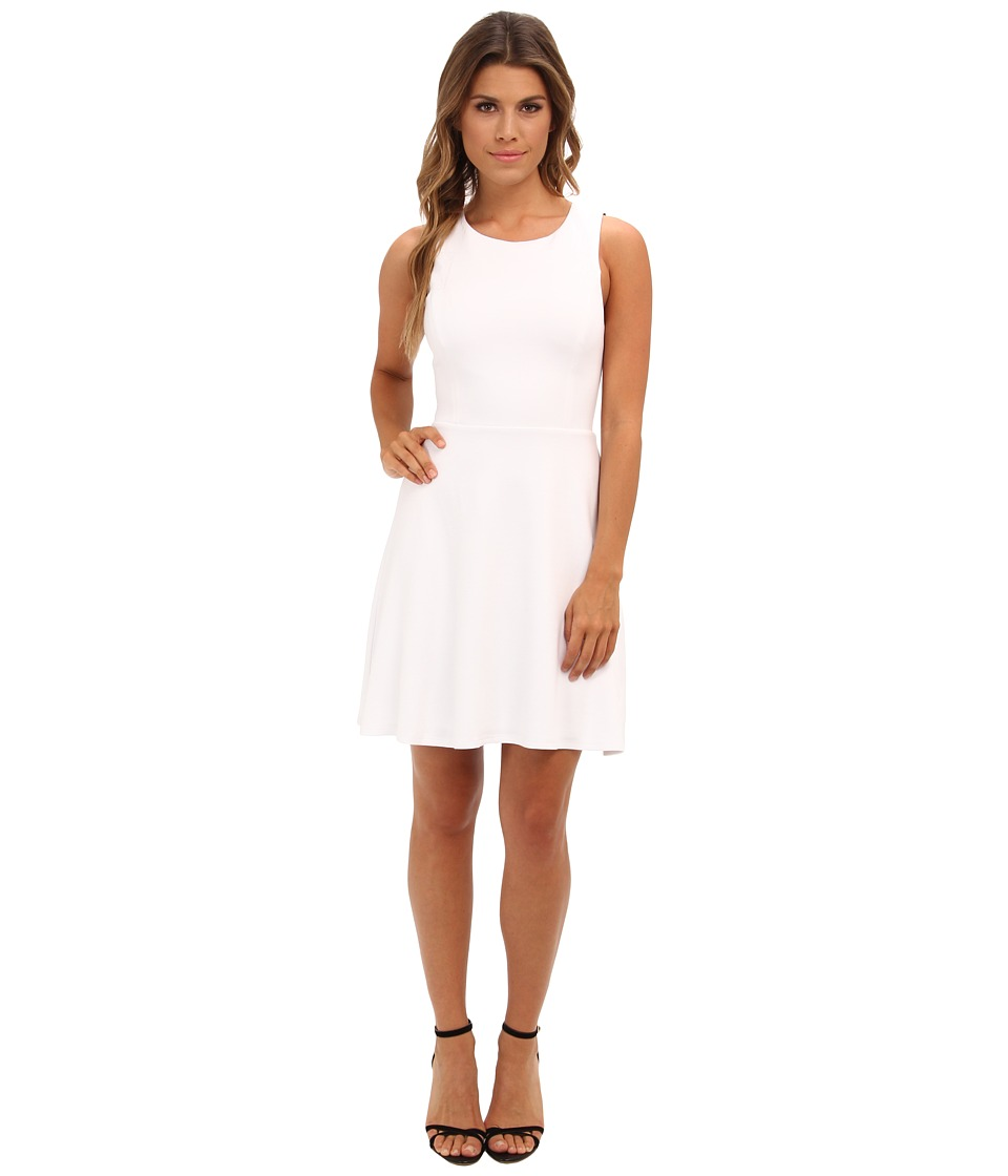 Bailey 44 - Defensive End Dress (White/Navy) Women's Dress