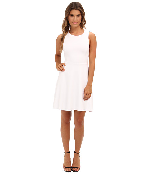 Bailey 44 - Defensive End Dress (White/Navy) Women
