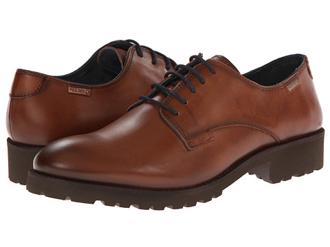 Pikolinos - Cork 07S-6810 (Cuero) Men's Plain Toe Shoes