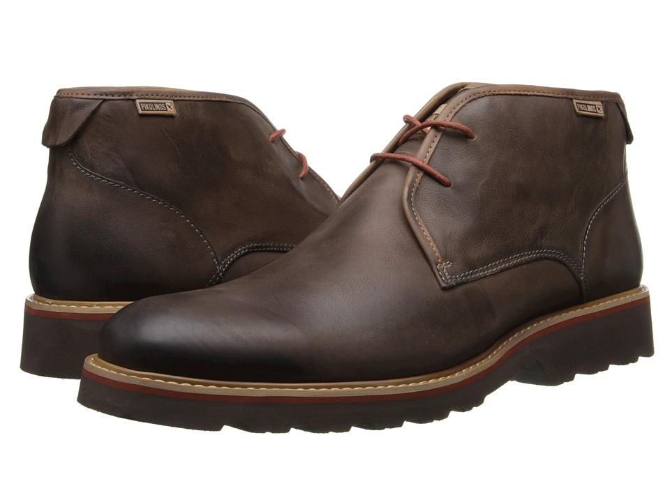 Pikolinos - Glasgow 05M-6030F (Chocolate) Men's Lace-up Boots