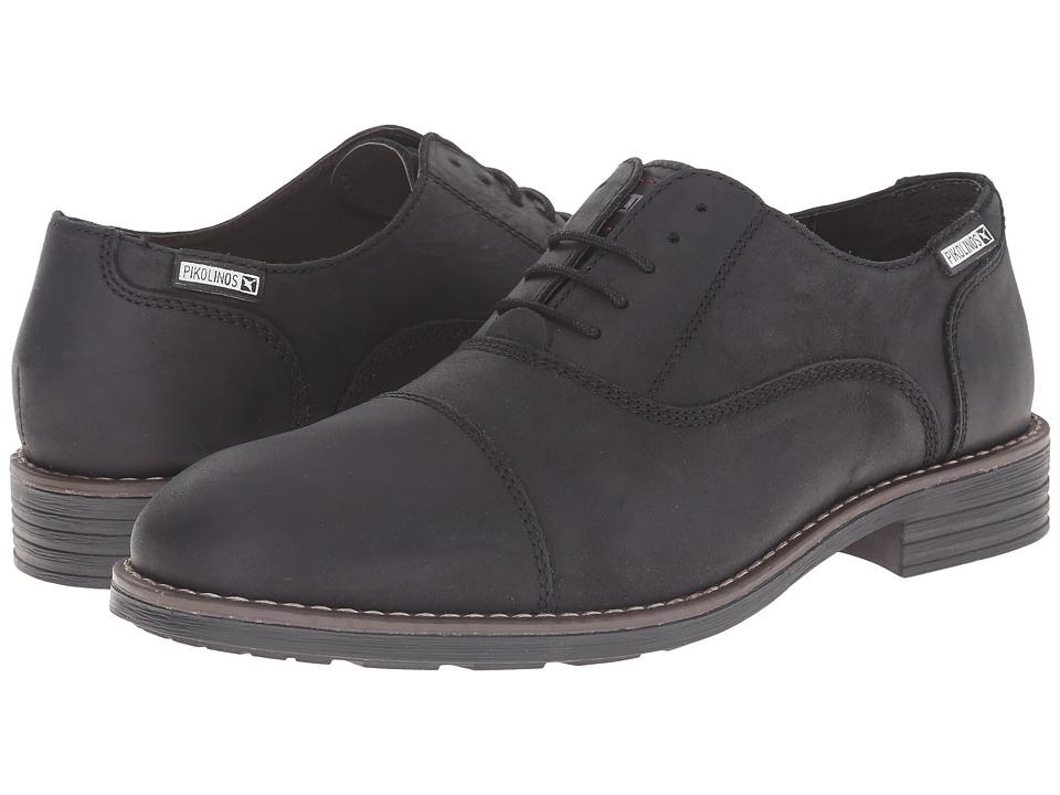 Pikolinos - Pamplona 03Q-6833 (Black) Men's Shoes