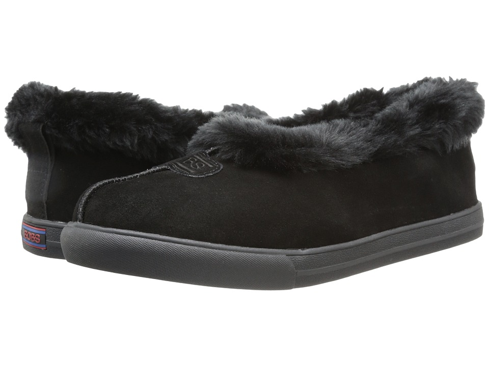 BOBS from SKECHERS Mad Crush Snuggle In (Black) Women