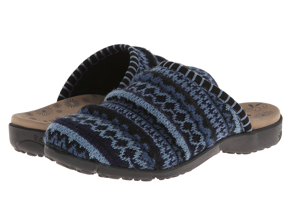 Taos Footwear - Knitwit (Blue Multi) Women's Clog Shoes