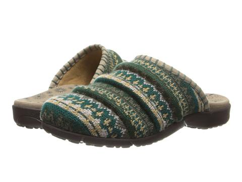 taos Footwear - Knitwit (Emerald Multi) Women's Clog Shoes