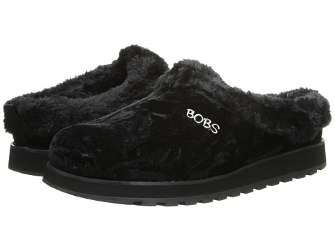 BOBS from SKECHERS - Keepsakes - Snowed In (Black) Women's Slippers