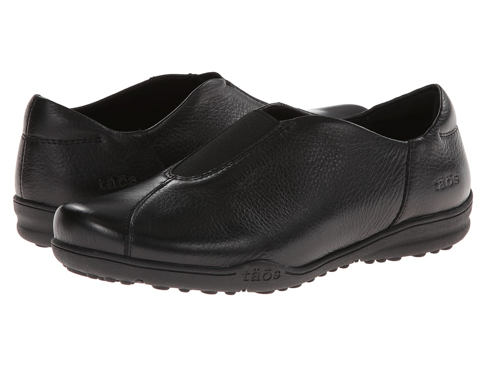 Taos Footwear - Town Center (Black) Women's Slip on Shoes
