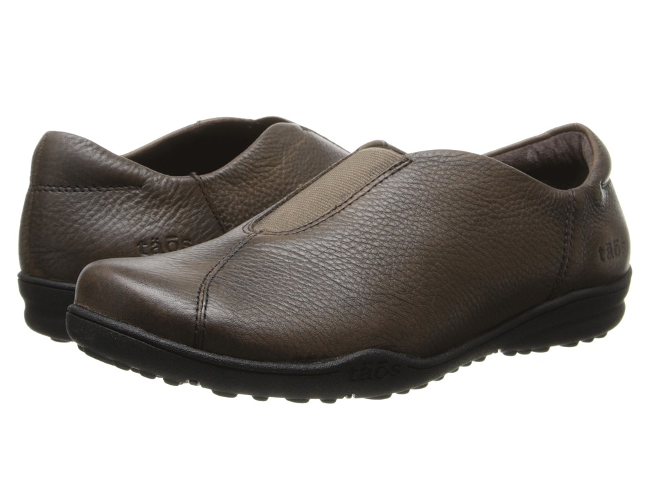 taos Footwear - Town Center (Dark Taupe) Women's Slip on Shoes