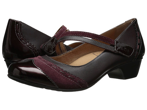 taos Footwear - Can Can (Burgundy Patent) Women's Maryjane Shoes