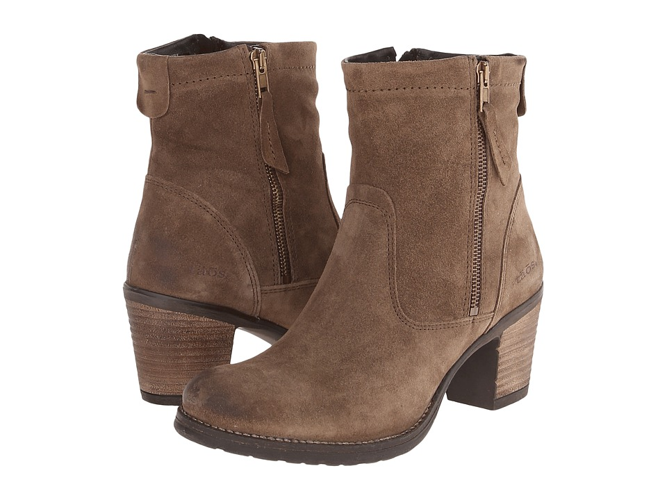 Taos Footwear - Shaka (Taupe Suede) Women's Boots