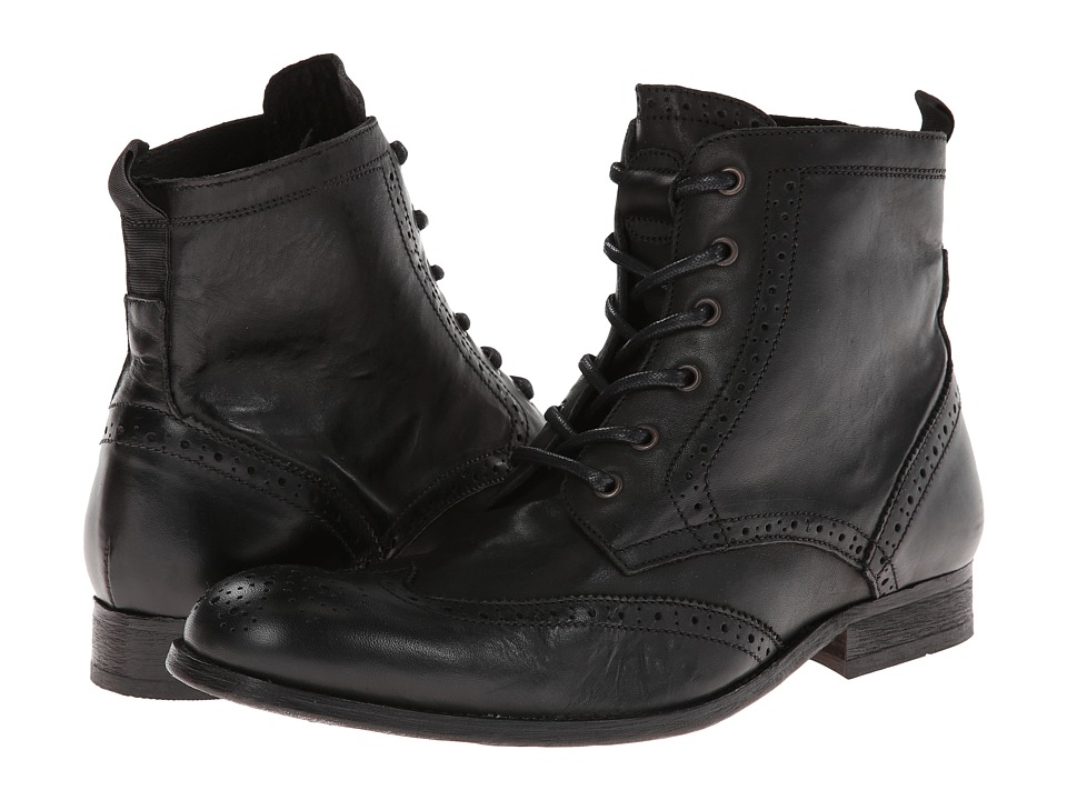 H by Hudson - Angus (Black) Men's Shoes