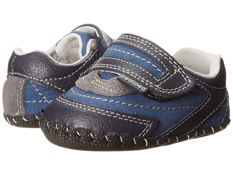 pediped - Teddy Original (Infant) (Navy) Boy's Shoes