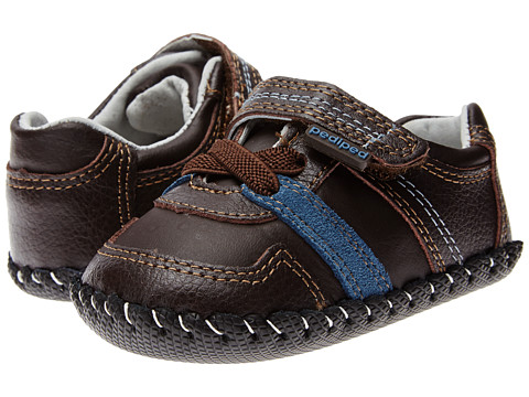 pediped - Channing Original (Infant) (Chocolate) Boy's Shoes