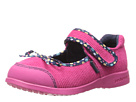 pediped Becky Flex (Toddler/Little Kid/Big Kid) (Fuchsia)